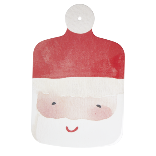 Rice Melamine Snijplank Santa Clause