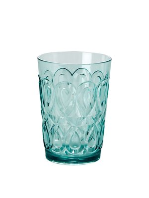 Rice Water glas tumbler acryl Swirly mint