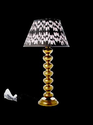 Rice Lamp voet metaal Bol goud