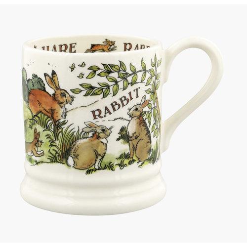 Emma Bridgewater 0.5 pt Mug Rabbit & Hares