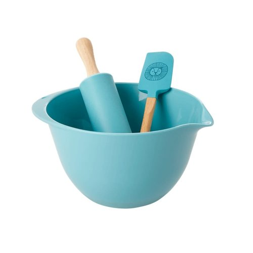 Rice Kids Bakset set/3 blauw