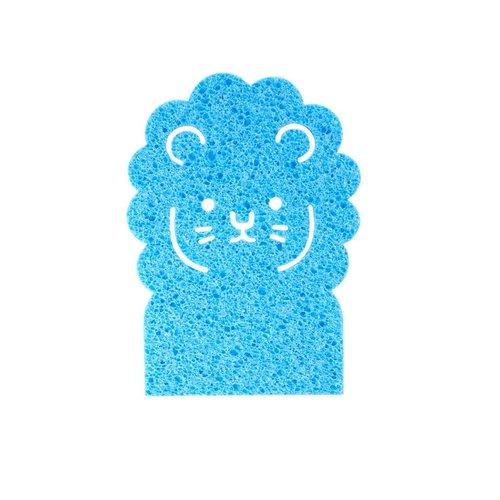 Rice Spons Lion blauw