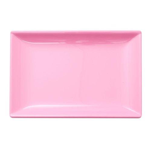 Rice Melamine Sushi bord Believe Taffy Pink