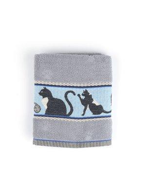 Bunzlau Castle Keuken handdoek Cats Grey