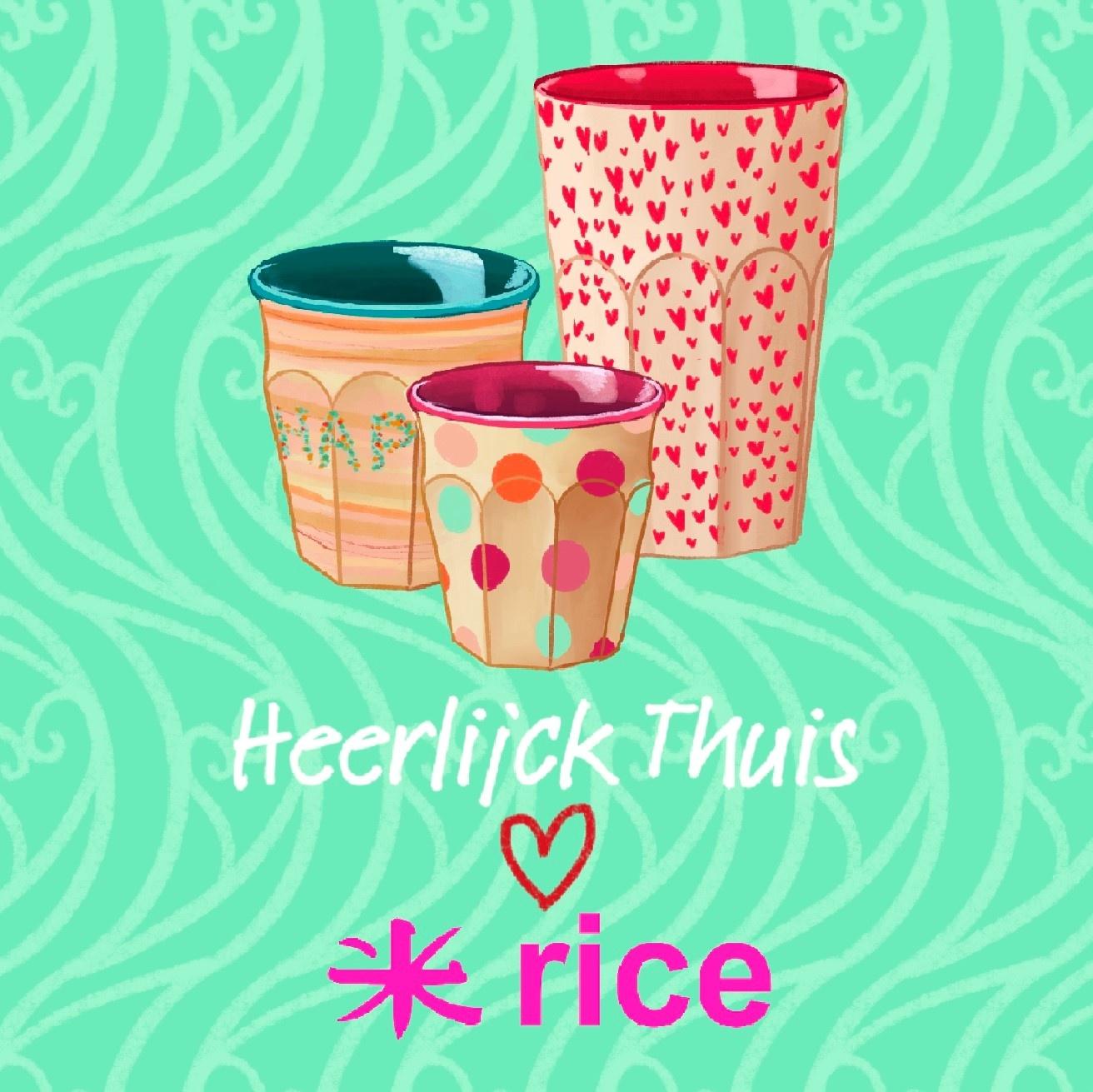 Heerlijck Thuis ❤️ Rice