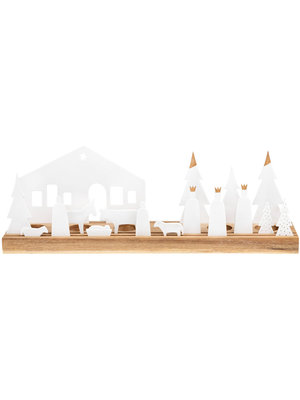 Räder Light object nativity set