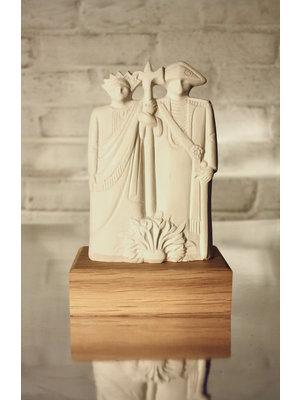 Studio Mansvelders Statue Valuas & Guntrud 2.0 off-white