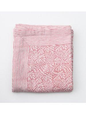 Rozablue Tafellaken 150x240cm Floral Coral