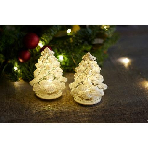 Sirius Cilja kerstboom set/2 snow white