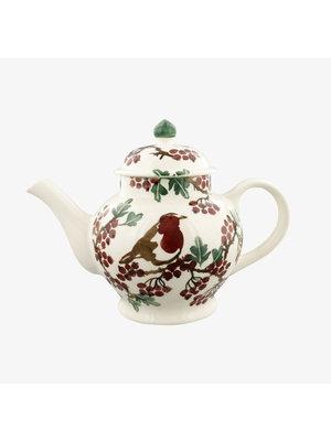 Emma Bridgewater 4 Mug Teapot Hawthorn berries