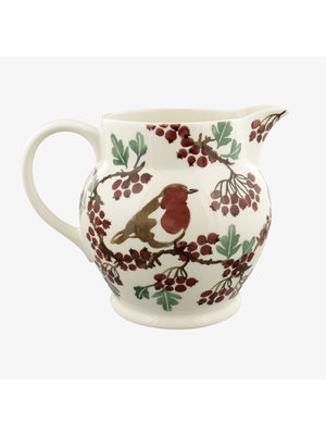 Emma Bridgewater 3 pt Jug Hawthorn berries & Robin
