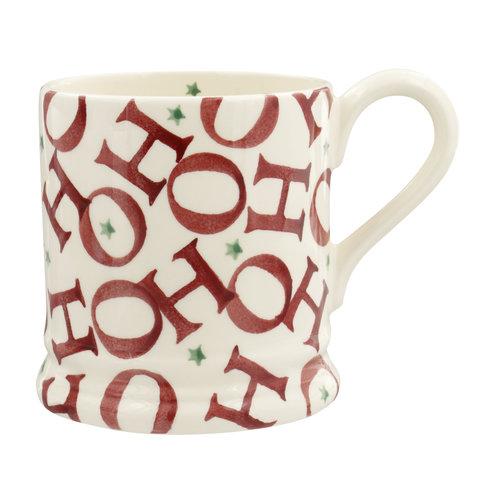 Emma Bridgewater 0.5 pt Mug HoHoHo all over