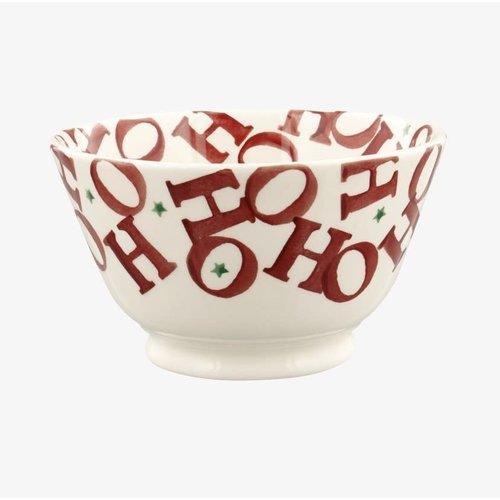 Emma Bridgewater Kom Old Bowl small HoHoHo all over