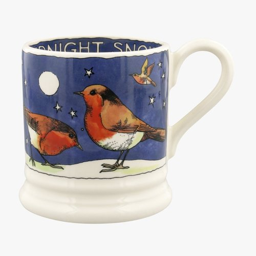Emma Bridgewater 0.5 pt Mug Robin in the Snow