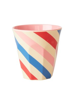 Rice Melamine beker Candy Stripes