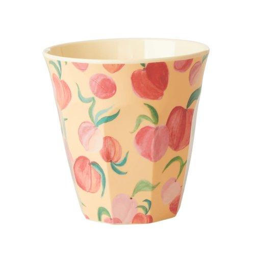 Rice Melamine beker Peach