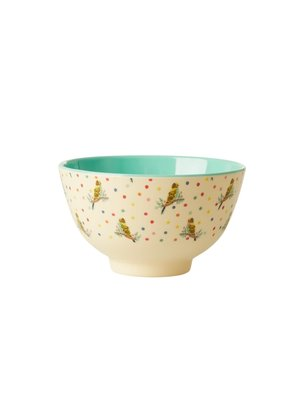 Rice Melamine kom small Budgie