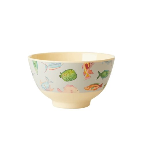 Rice Melamine kom small Fish