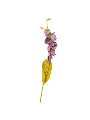 Rice Raffia bloem lila paars