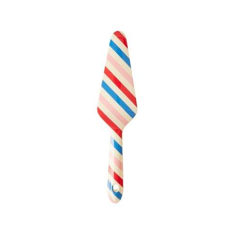 Rice Melamine taartschep Candy Stripes - Choose Happy