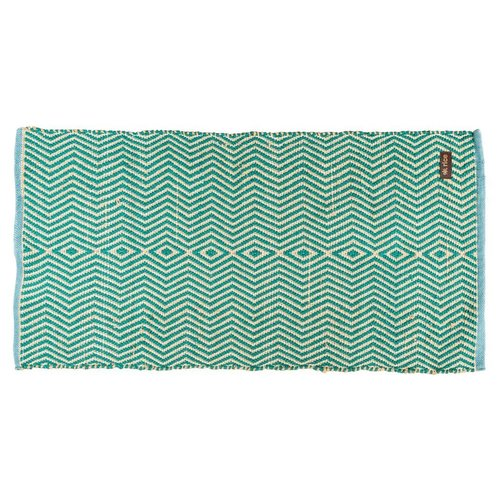 Rice Recycled Plastic Vloermat Green