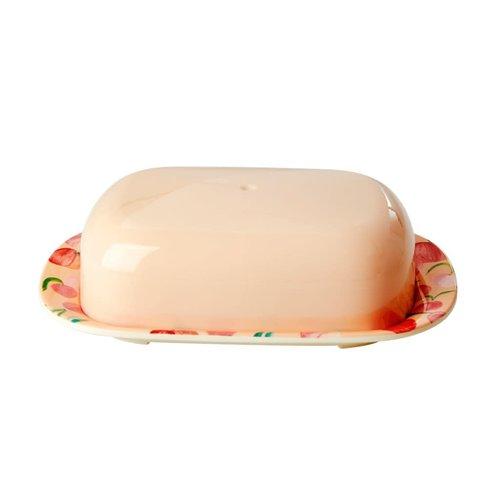 Rice Melamine botervloot Peach