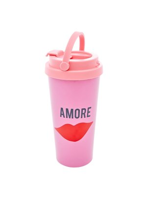 Rice Thermos beker 450ml Amore roze