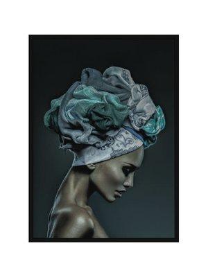 Incado Poster 50x70 Blue