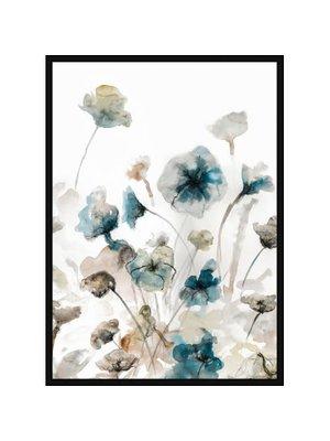 Incado Poster 50x70 Blue Garden