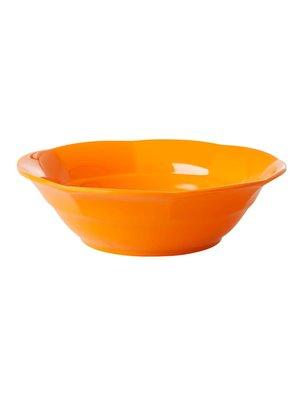 Rice Melamine diep bord in Tangerine / oranje