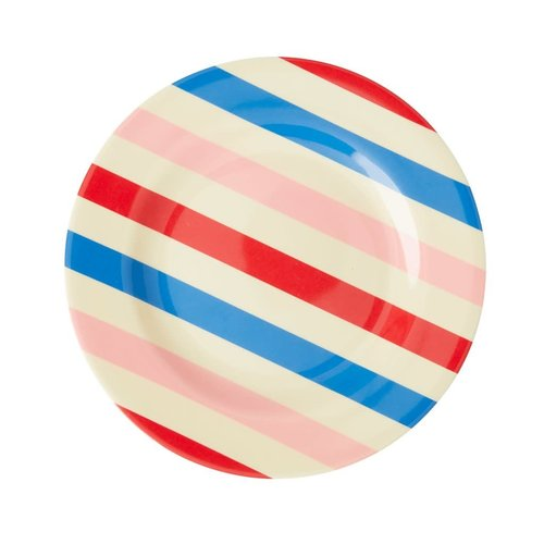 Rice Melamine lunch bord Candy Stripes