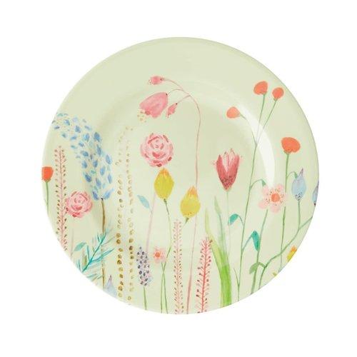 Rice Melamine lunch bord Summer Flowers