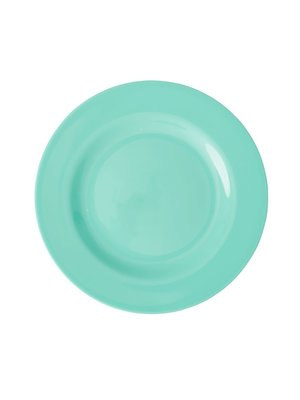 Rice Melamine lunch bord Choose Happy in emerald green