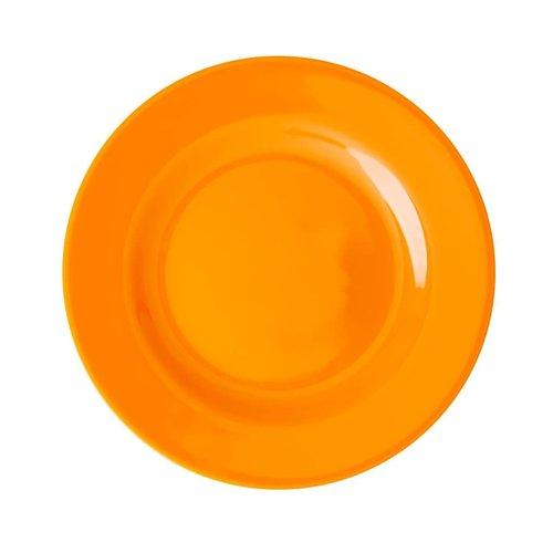Rice Melamine lunch bord Choose Happy in oranje - tangerine