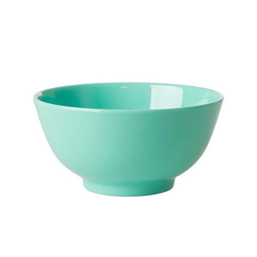 Rice Melamine kom Choose Happy in emerald green