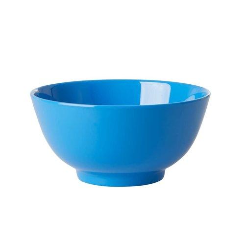 Rice Melamine kom Choose Happy in ocean blue