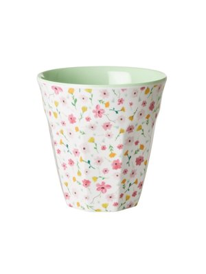 Rice Melamine beker Easter Flower wit