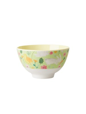 Rice Melamine kom small Easter groen