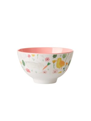 Rice Melamine kom small Easter wit
