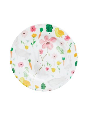 Rice Melamine lunch bord Easter wit