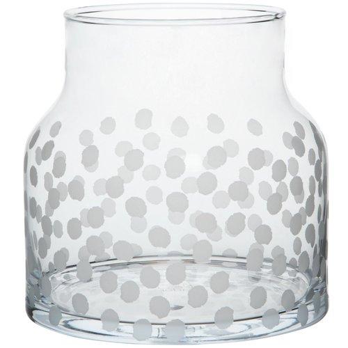 Räder Vaas glas Dots