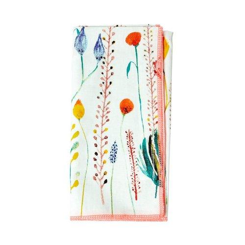 Rice Servet katoen Summer Flowers set/2