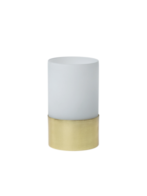 Urban Nature Culture Tealight holder white frosted