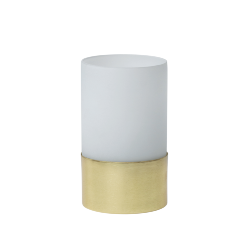 Urban Nature Culture Theelicht houder white frosted