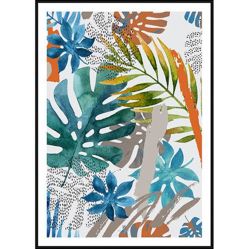 Incado Poster 50x70 Wall Art Tropical Vibes