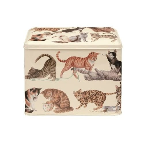 Emma Bridgewater Caddy blik XL Cats
