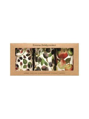 Emma Bridgewater Caddy blik Fruits Apples - Appels