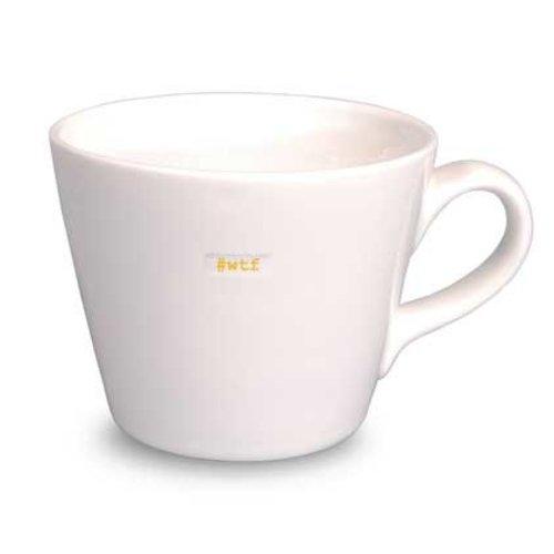 Keith Brymer Jones Bucket Mug #WTF