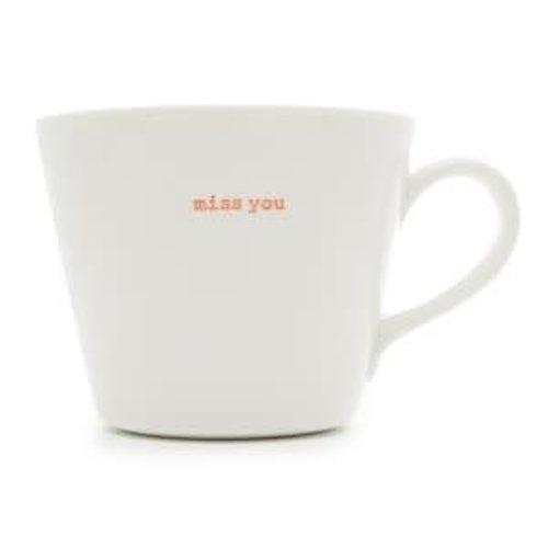 Keith Brymer Jones Bucket Mug Miss you