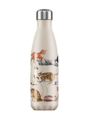 Chilly's Chilly's Bottle 500ml Cats Emma Bridgewater